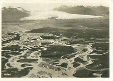Vatnajokull vatna glacier Iceland zeppelin airship Dirigible card image 30s