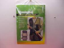 Remington Deluxe Shooting Vest- Skeet/Trap/Sporting - Size XXL - Black - New !!!