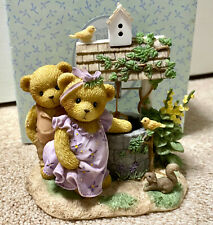 Cherished Teddies 2007 Donna & Phil Couple Wishing Well SIGNED Event Exc 4008962