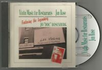 JON ROSE Violin Music For Restaurants Import USA CD Album EXCELLENT CONDITION