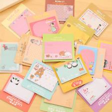 Random Cartoon Cute Stickers Post-It Memo Bookmark Flags Index Tab Sticky Notes
