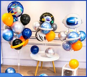 Creative Outer Space Planet Theme Balloon Set for Birthday Party Decoration Hot