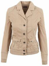 L' ARGENTINA Damen Blazer Women Jacket Größe 38 M Baumwolle & Elasthan Braun NEU