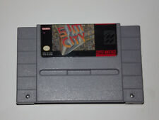 Super Nintendo SNES Game SIM CITY CLEAN and TESTED