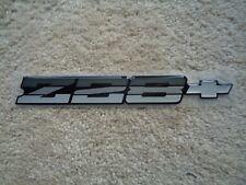 1982 83 84 85 86 87 88 89 90 91 92 Camaro Z28 Silver Rear Bumper Emblem 14083663