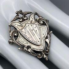Pin Brooch Citizenship Award Mhs Birming Vintage 40s Sterling Silver High School