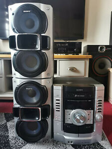 SONY HIFI MUSICAL SYSTEM WITH JAMO SPEAKERS