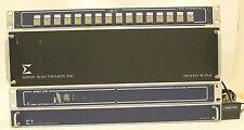 SIGMA ELECTRONICS SS-2100-2 HUB DVS-1616 + SBC-16 + 2100-6 VIDEO SWITCHER PANELS