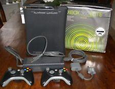Microsoft Xbox 360 Elite Launch Edition 120GB Matte Black Console (NTSC) & BONUS