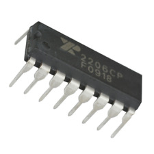 1x Exar Xr2206 Monolithic Function Generator Ic 16 Pin Dip Xr2206cp Breadboard