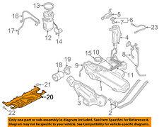 AUDI OEM 00-06 TT Quattro 1.8L-L4 Fuel System-Lower Shield 8N0825213E