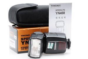 Yongnuo YN468 Speedlite Shoe Mount Flash for Canon #075