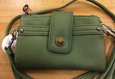 RELIC Vicky Collection Wristlet & Shoulder Strap Wallet SAGE  New!