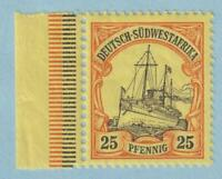 GERMAN SOUTH WEST AFRICA 17  NEVER MINT HINGED OG ** NO FAULTS EXTRA FINE!