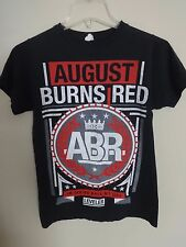 EUC August Burns Red I'm Taking Back My Life Leveler Tour T-Shirt Men Small