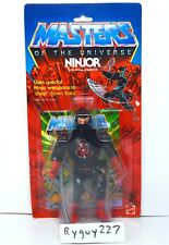 MOTU, Ninjor, Masters of the Universe, MOC, carded, figure, sealed, He Man, MOSC