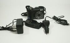 Olympus Digital Camera Black SP-350 8.0MP 3x Optical Zoom In Working Order