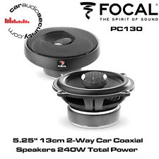 """Focal PC130 Performance 5.25"""" 13cm 2-Way Car Coaxial Speakers 240W Total Power"""
