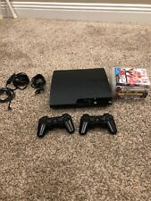 Sony Play Station 3 with games and 2 controllers