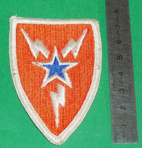AVIATION PATCH INSIGNE MILITARIA ANNEES 1980 ETOILE FOUDRE ECLAIRS