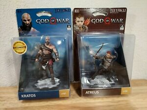 God of War Kratos & Atreus Figures - Kotaku Collection #07 & #08