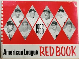 1956 MLB American League Red Book * Yankees World Series Champs * B Doerr Estate