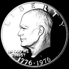 1776 ~ 1976 S Eisenhower MInt Proof Bicentennial Dollar ~ T2 from 1976 Proof Set