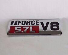 TOYOTA TUNDRA iFORCE 5.7L V8 EMBLEM LH 07-13 FRONT FENDER OEM BADGE sign symbol