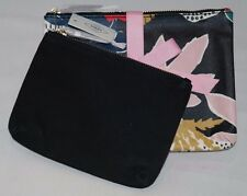 Fossil Keely Double Pouch Cosmetic Case Floral SL7209919 NWT