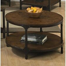 Jofran 785-2 32 inch Urban Nature Round Cocktail Table In Pine Finish New