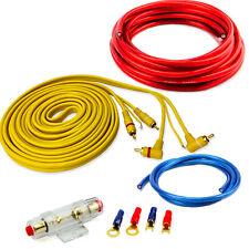 Verstärker Kabelsatz Anschluss Set Endstufe Amplifier Car Hifi komplett 10qmm