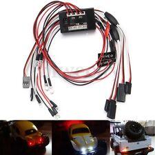 RC 1/10 Car 8 LED Lights Group Kit Brake + Headlights + Signal PPM FM 2.4GHz
