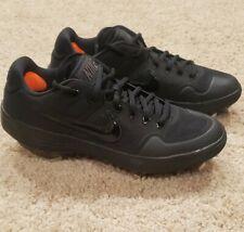 Nike Alpha Huarache Elite 2 Low Baseball Cleats Men's Size 7.5 AJ6873-003 Black