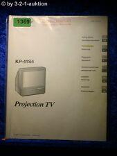 Sony Bedienungsanleitung KP 41S4 Projection TV (#1369)