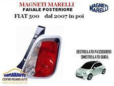 * MARELLI* FARO FANALE POSTERIORE SINISTRO FIAT 500 DAL 2007 IN POI (07 Stop)
