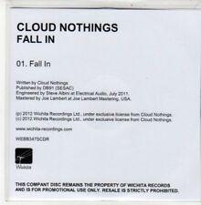 (DD923) Cloud Nothings, Fall In - 2012 DJ CD