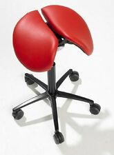 Salli Ergonomic Multi-adjuster Leather Saddle Seat