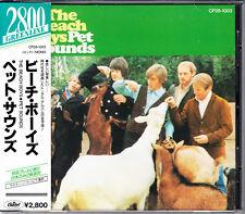 Beach Boys Pet Sounds 1988 Japan CD 1st Press With Obi Bonus CP28-1003 HTF Rare