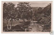 The Barle - Dulverton Real Photo Postcard 1932