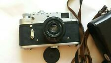 Zorki - 4 Lente de la Cámara + Industar - 50 3.5/50 + Estuche Original Urss Vintage soviético