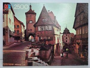 Vintage Sealed Milton Bradley Puzzle 2500 pieces #4870-12 Rothenberg, Germany