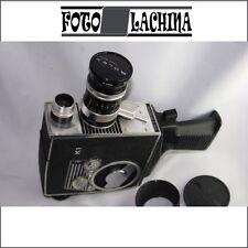 BOLEX REFLEX K1 Zoom Kern Vario Switar f 1.9/8-36 mm  1962 bella e funzionante !