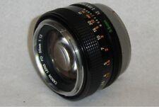 CANON FD55mm F1.2 FD 55mm 50-85mm Camera FD Lens