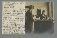 Cimmaron KANSAS RP 1908 INTERIOR TELEGRAPH OFFICE Depot? Chemist? nr Dodge City