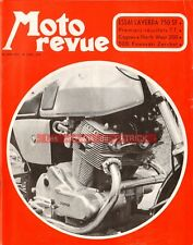 MOTO REVUE 2032 LAVERDA 750 SF ; KAWASAKI 500 Zerchot ; Tourist Trophy 1971