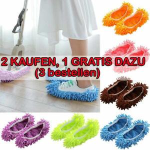 Mop Schuhen Putzschuhe Einfach für Wischen Boden Staub Schmutz Haare Reinigung .