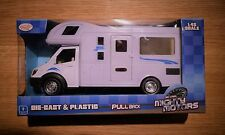 TOYRIFIC TRADITIONAL DIECAST & PLASTIC MOTORHOME CAMPER VAN SCALE 1/48 PULL BACK