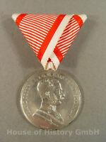 Österreich: Silberne Tapferkeitsmedaille 1.Klasse (große), 8.Ausgabe, 100023