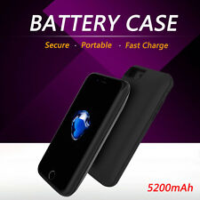 External Battery Back Magnet Cover Case Backup Charger Stand For Apple iPhone 7