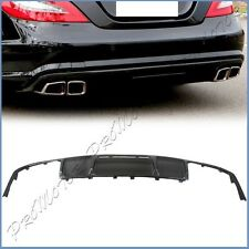 Carbon Fiber EU Style Exchanged Diffuser Fit 11-16 BENZ W218 CLS AMG Rear Bumper